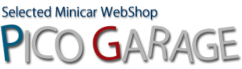 Selected Minicar WebShop PICO GARAGE